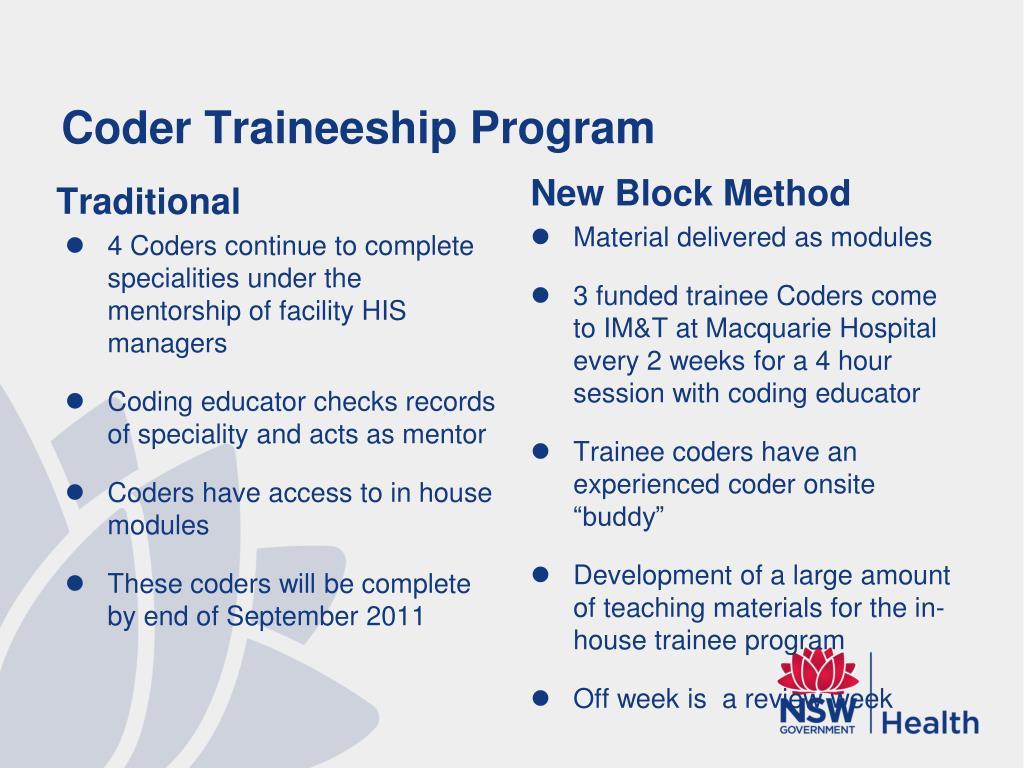 Coder Traineeship Program