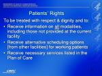 patients rights