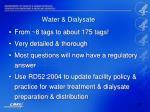 water dialysate28