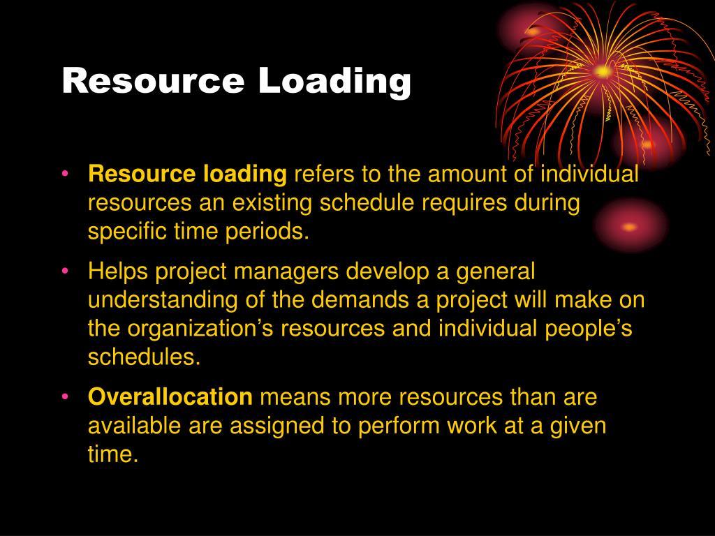 Resource Loading