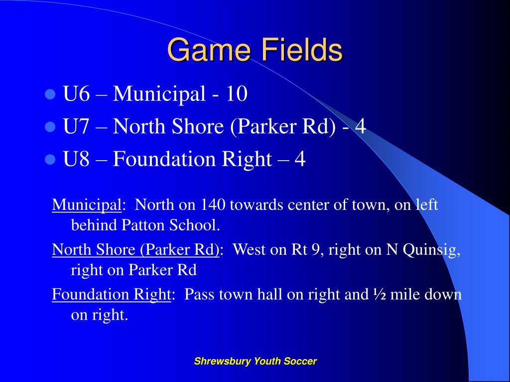 Game Fields
