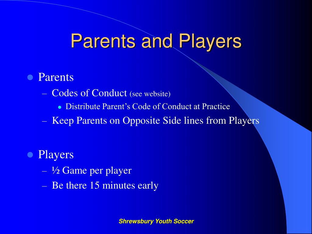 Parents and Players