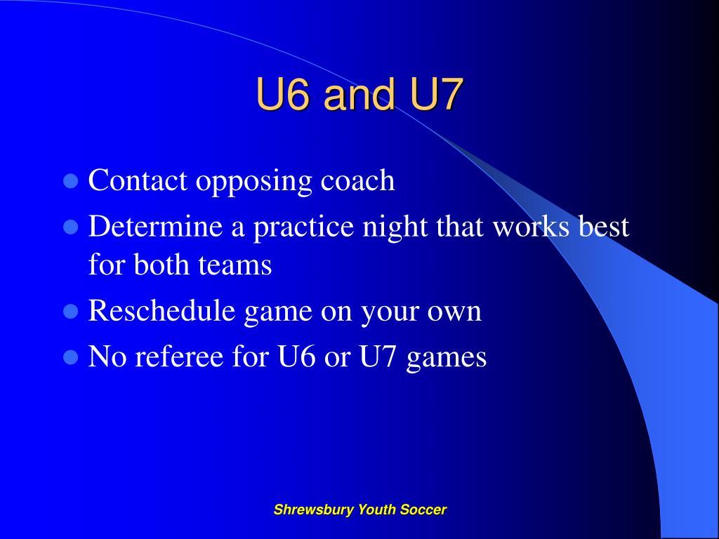 U6 and U7