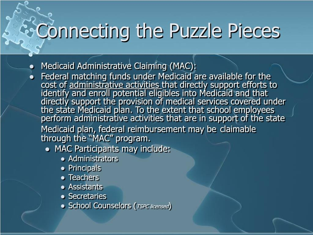 Connecting the Puzzle Pieces