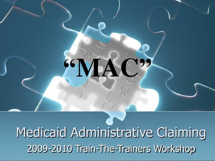 Medicaid administrative claiming