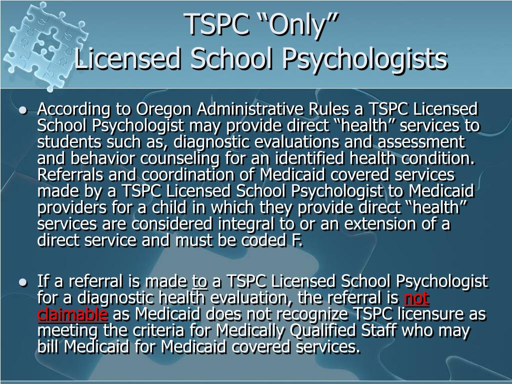 """TSPC """"Only"""""""