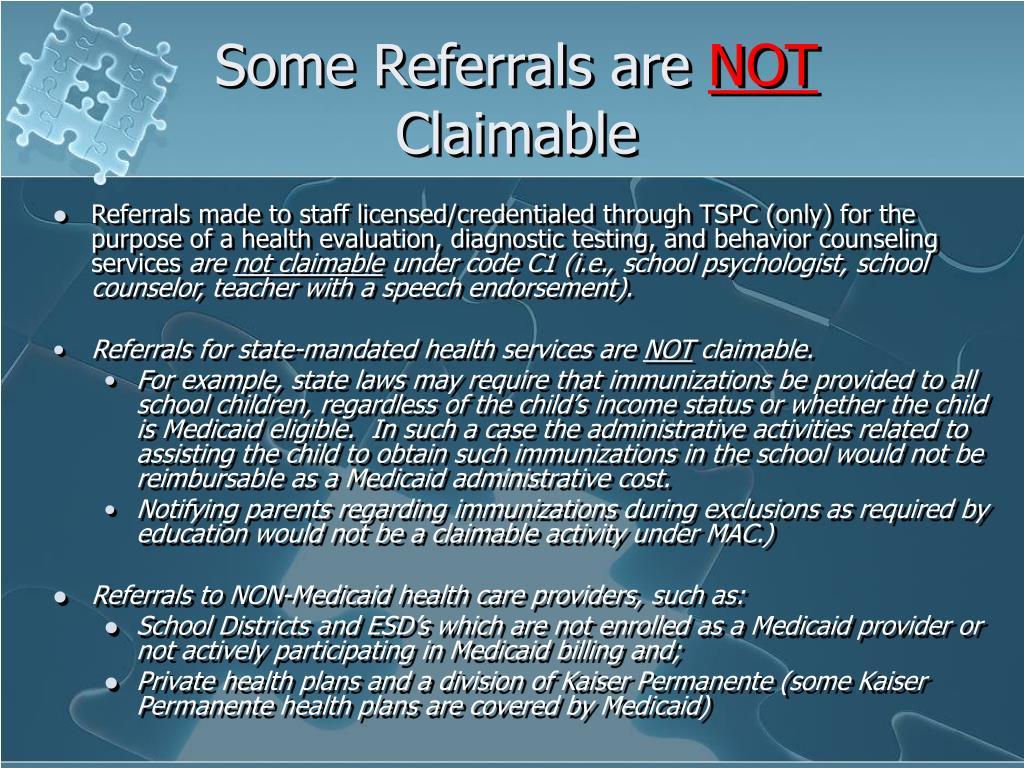 Some Referrals are