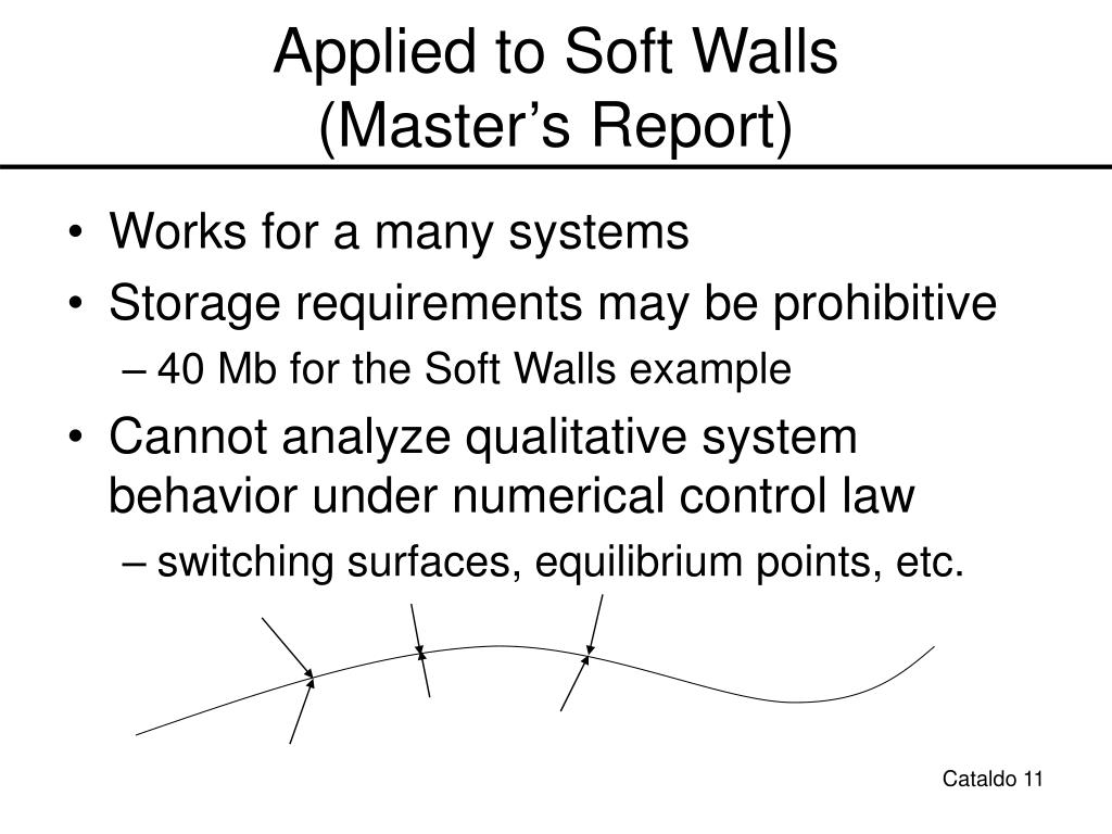 Applied to Soft Walls