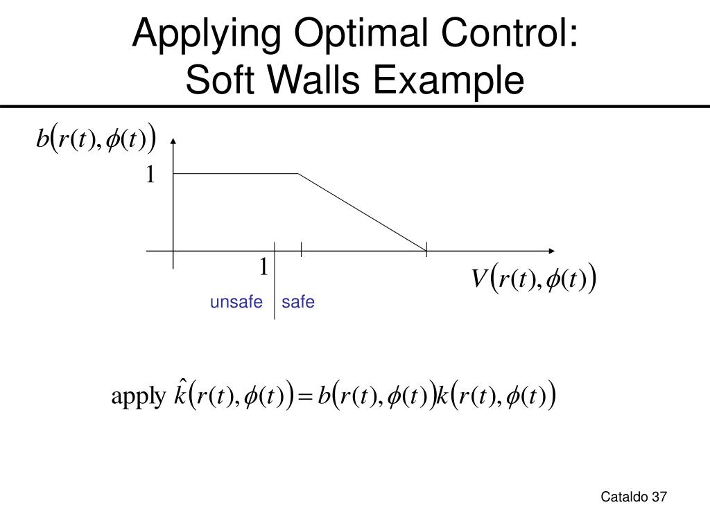 Applying Optimal Control: