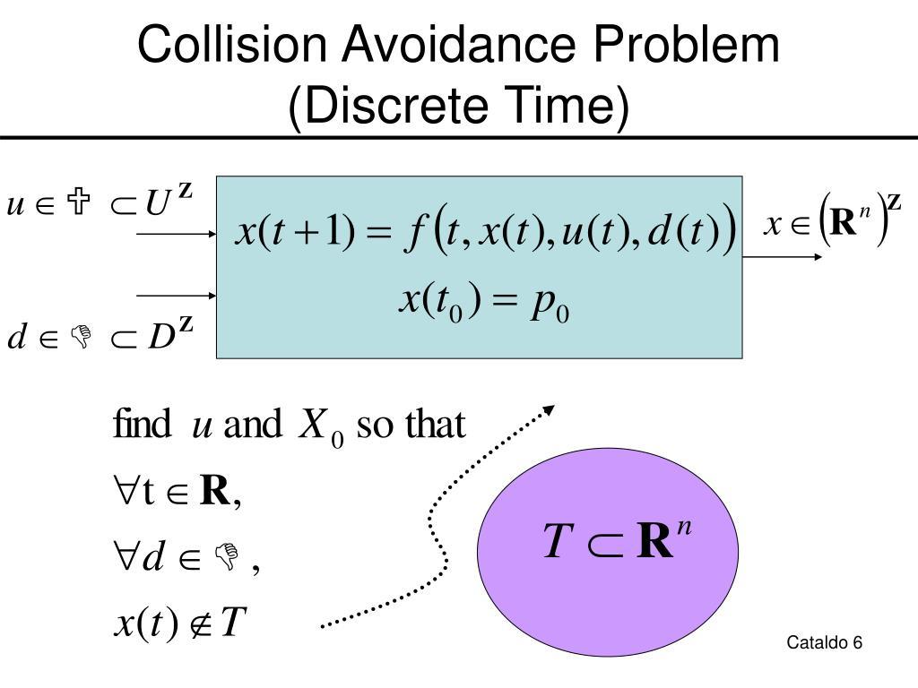 Collision Avoidance Problem