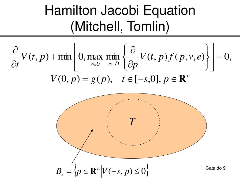 Hamilton Jacobi Equation