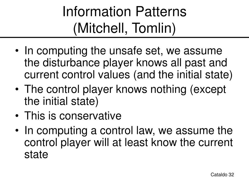 Information Patterns