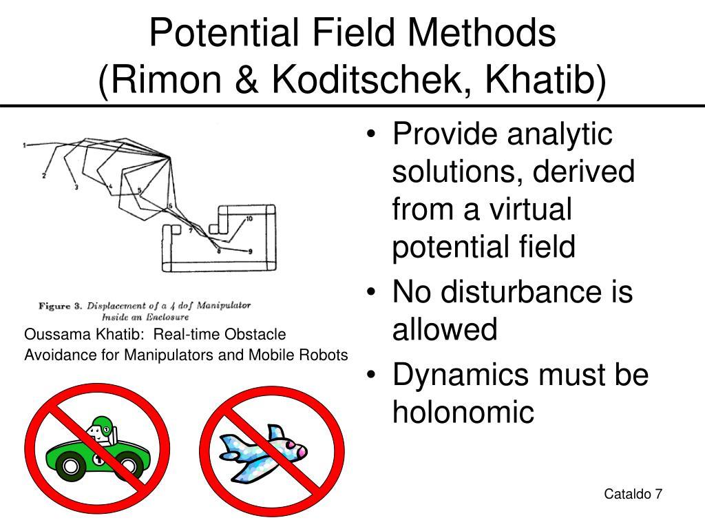 Potential Field Methods