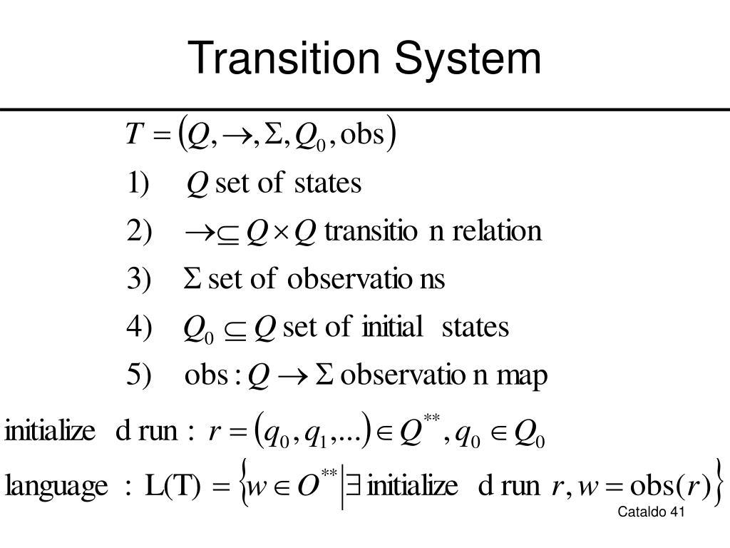 Transition System