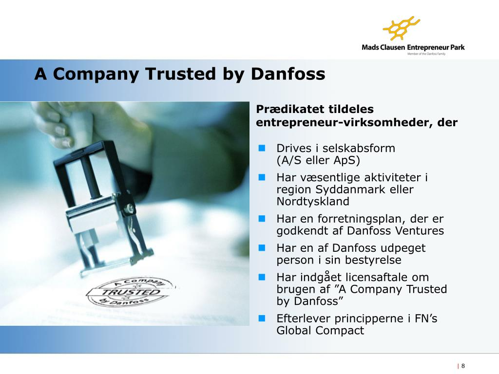 A Company Trusted by Danfoss