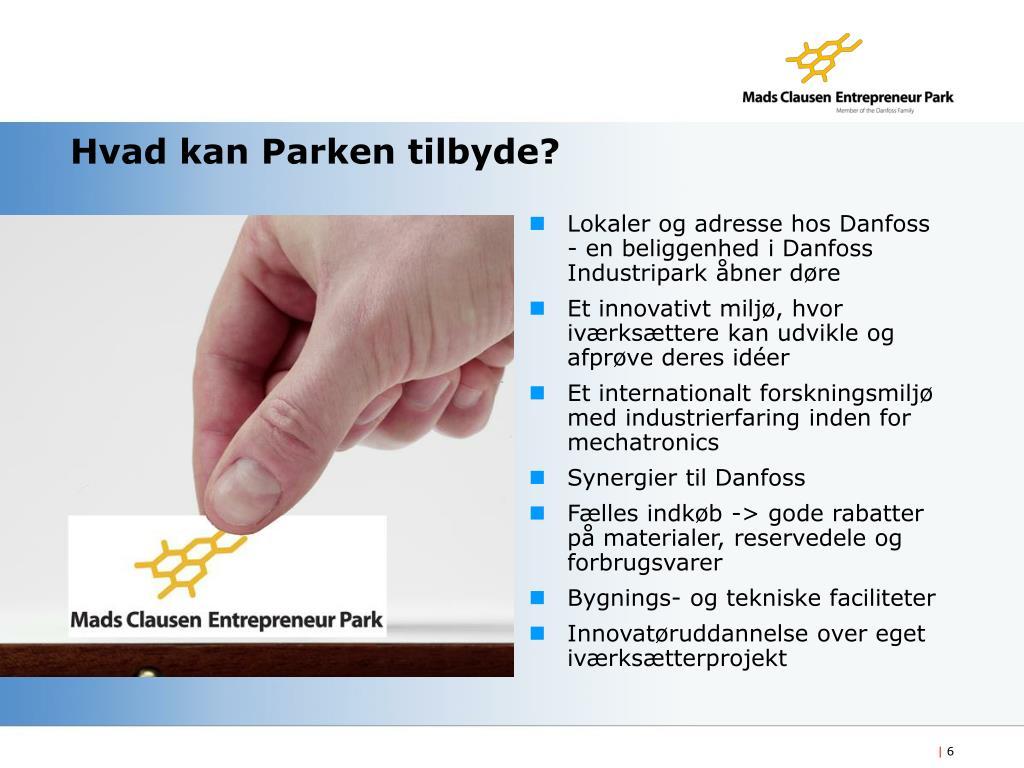 Hvad kan Parken tilbyde?