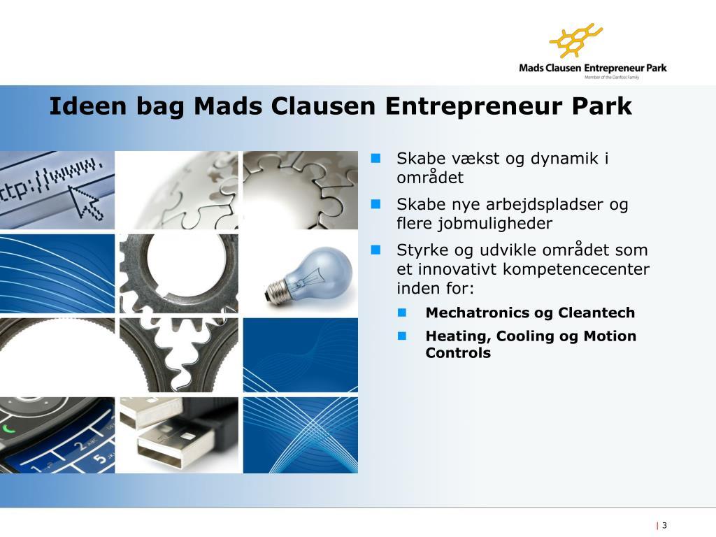 Ideen bag Mads Clausen Entrepreneur Park