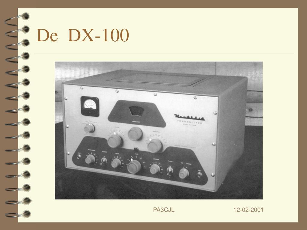 De  DX-100