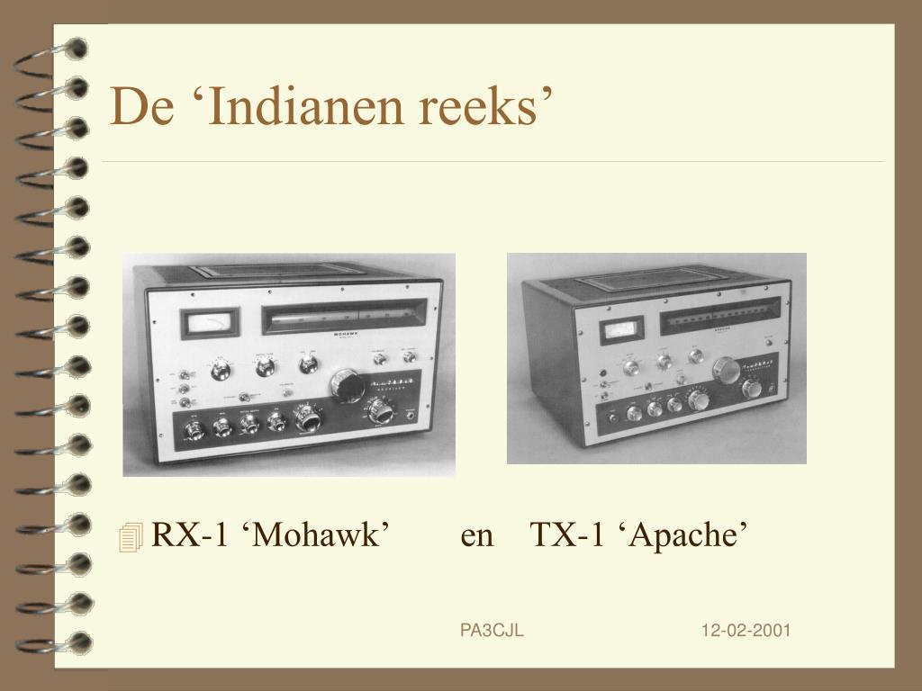 De 'Indianen reeks'