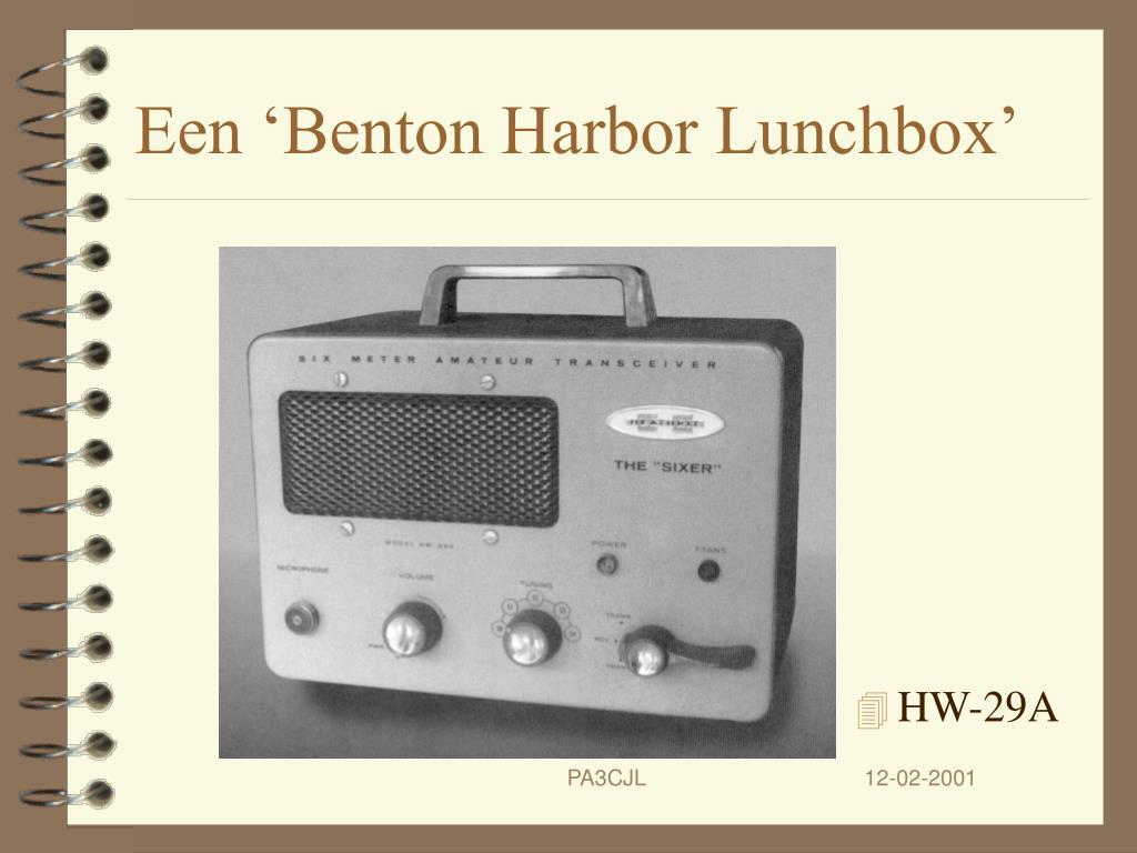 Een 'Benton Harbor Lunchbox'