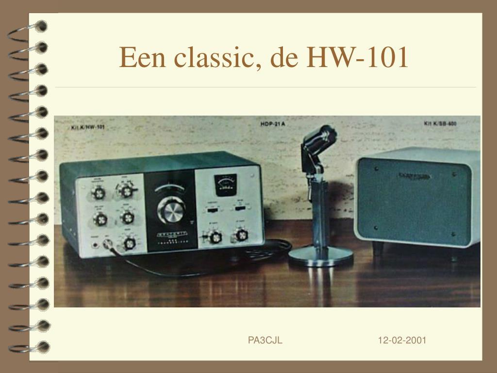 Een classic, de HW-101