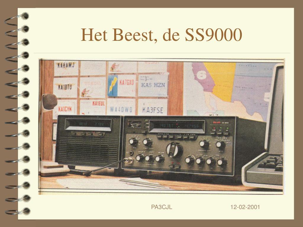 Het Beest, de SS9000