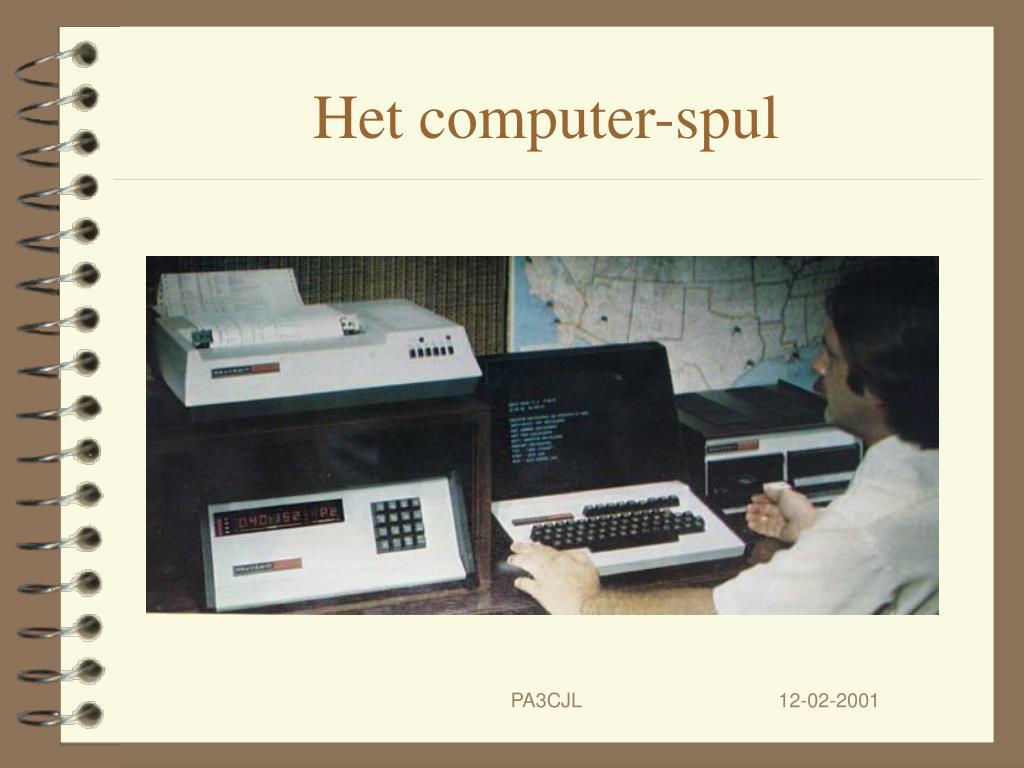 Het computer-spul