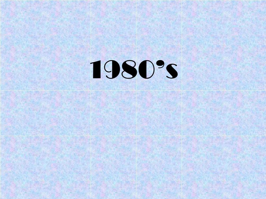 1980 s l.