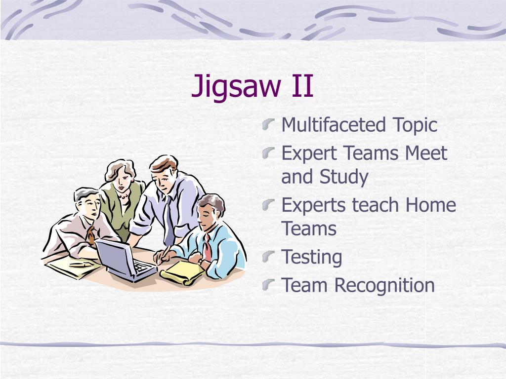 Jigsaw II