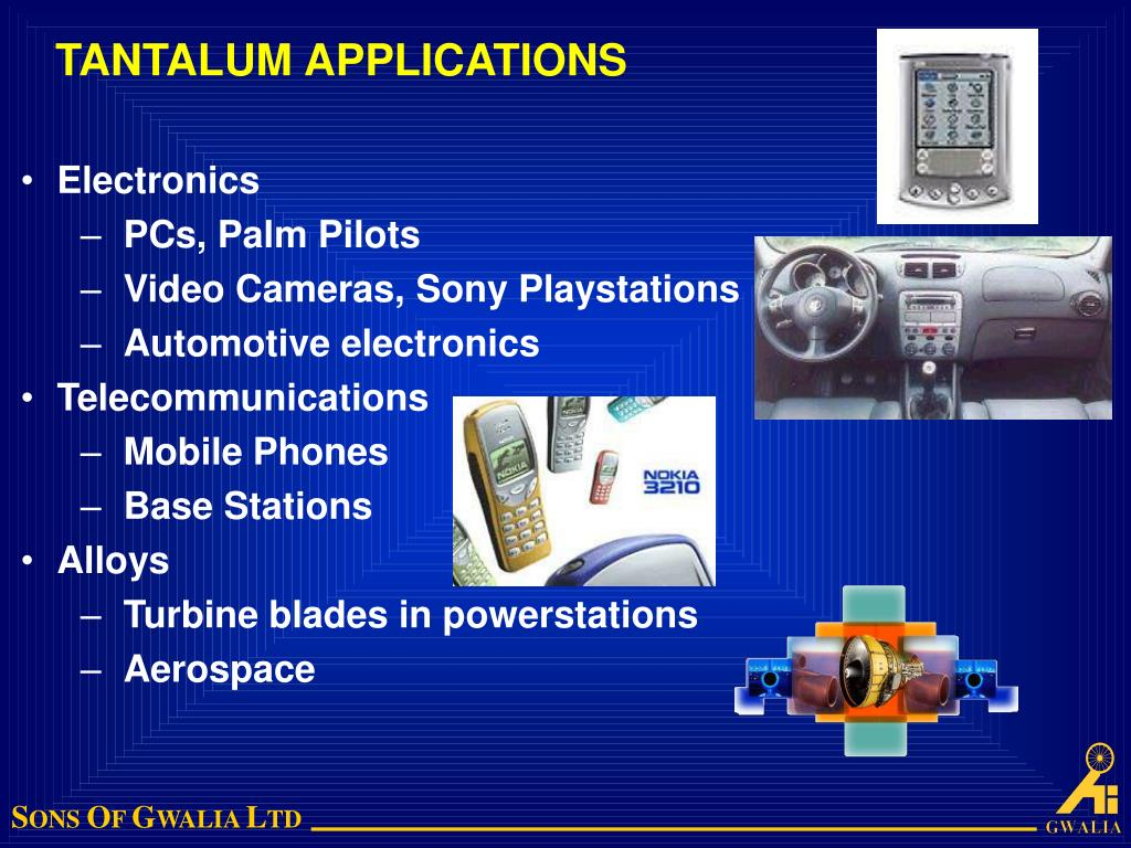 TANTALUM APPLICATIONS