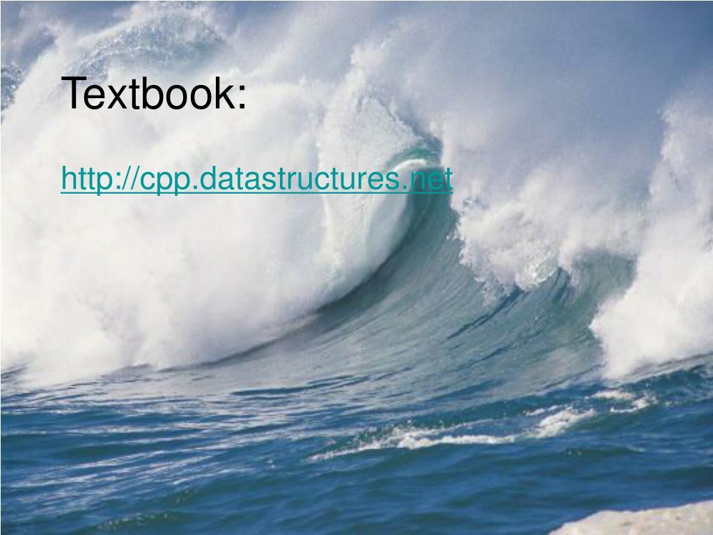 Textbook: