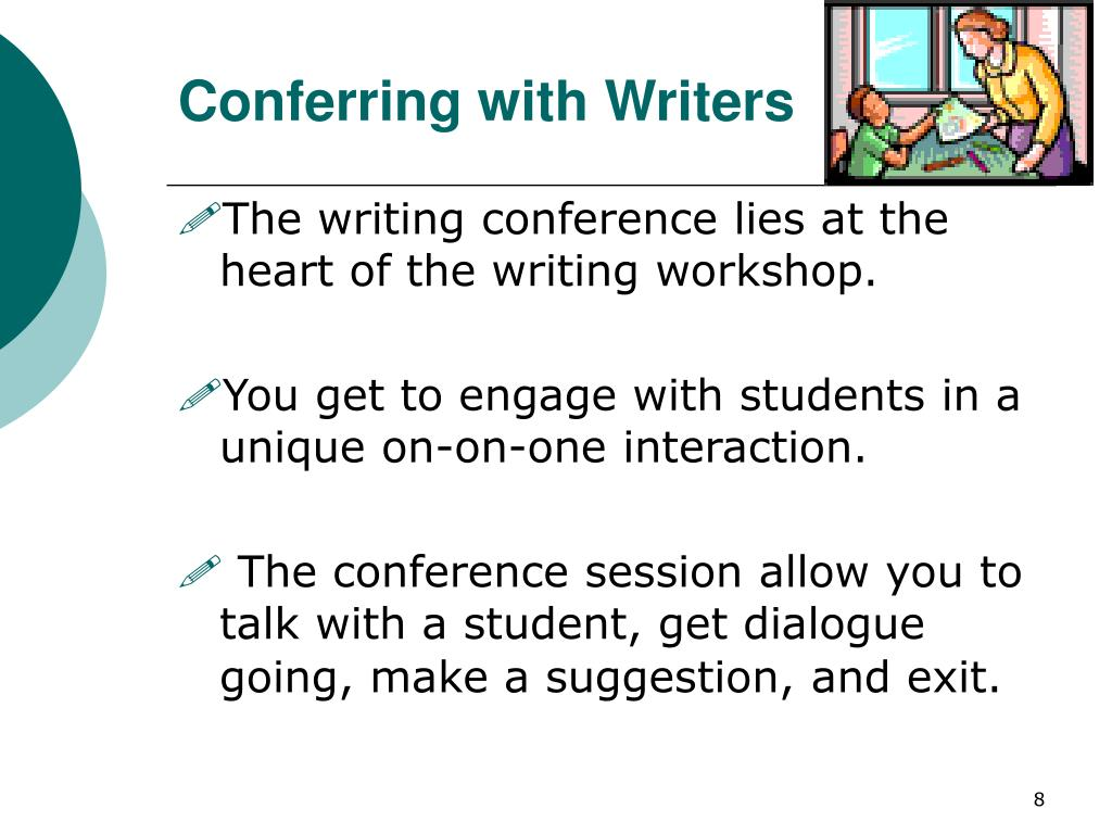 Conferring with Writers