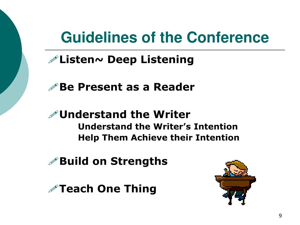Guidelines of the Conference