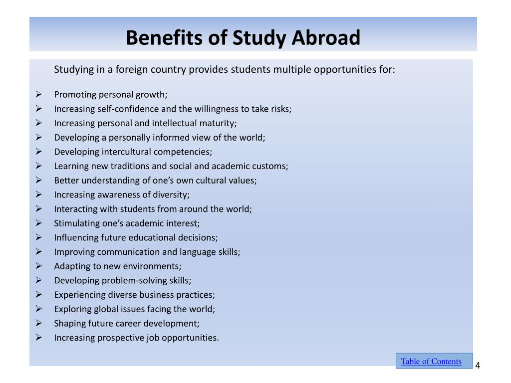 "do the benefits of study abroad 6 key benefits of studying abroad why study abroad ""it will change your life in unexpected ways, broaden your perspective, and teach you new things about yourself."