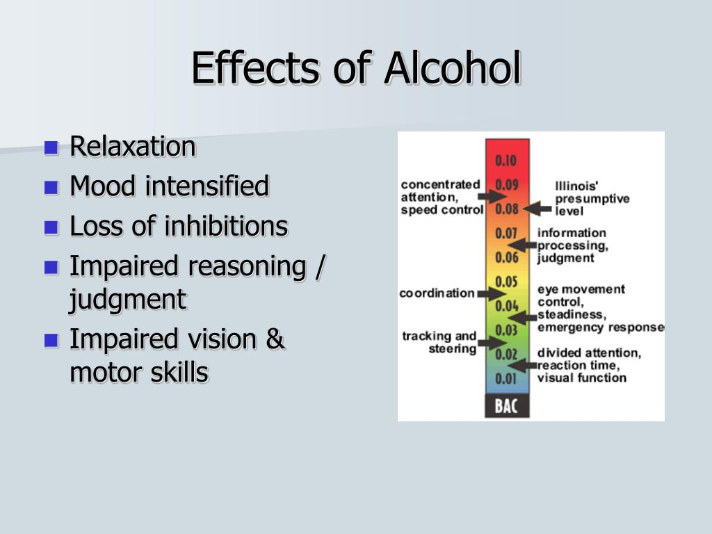 the effect of alcohol on reaction times essay
