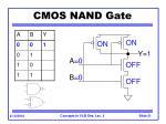 cmos nand gate21
