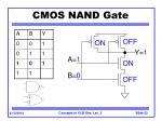 cmos nand gate23