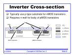 inverter cross section