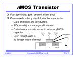 n mos transistor