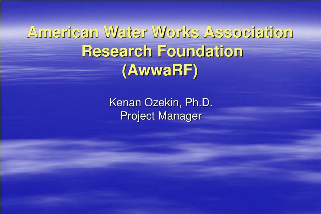 American Water Works Association