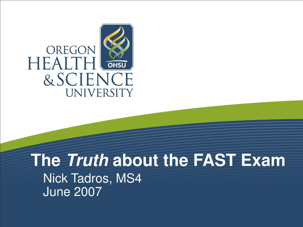 the truth about the fast exam l.