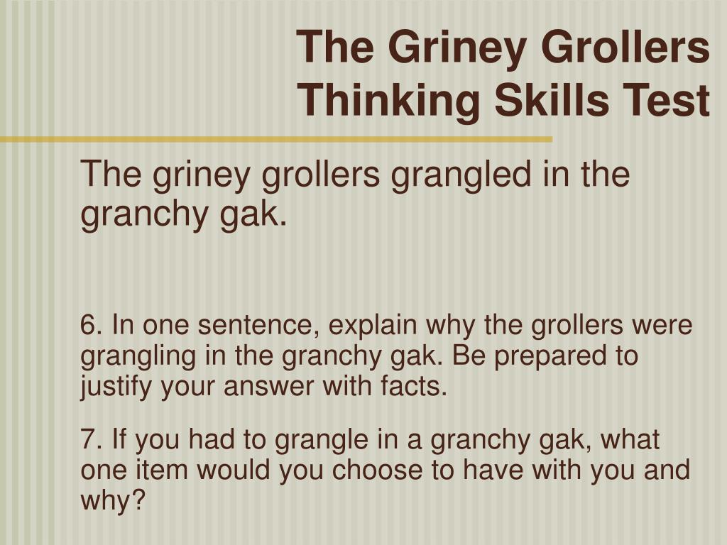 The Griney Grollers