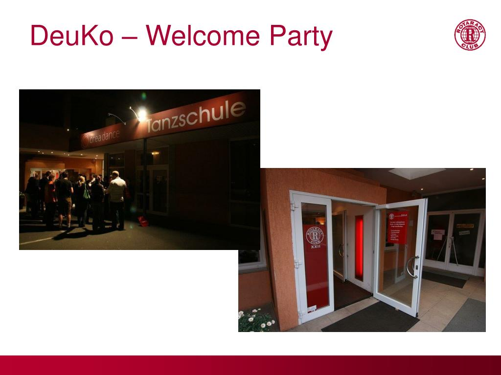 DeuKo – Welcome Party