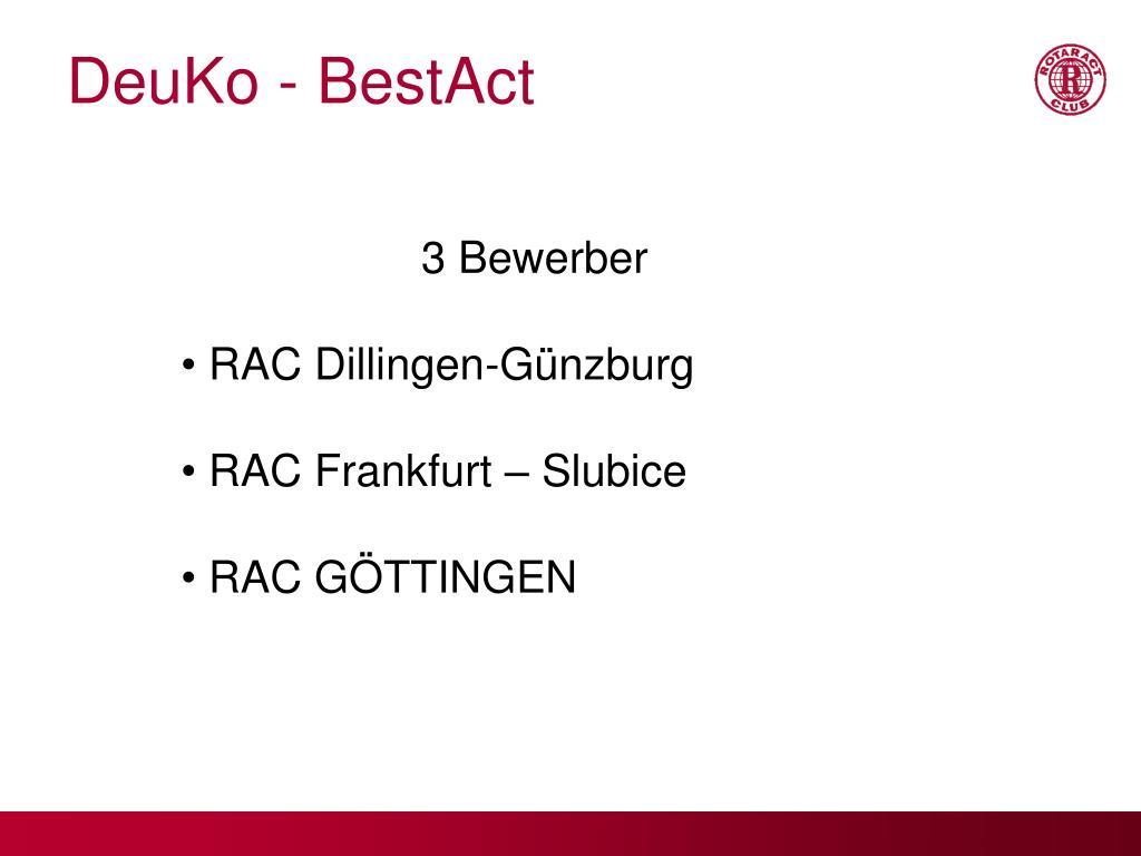 DeuKo - BestAct