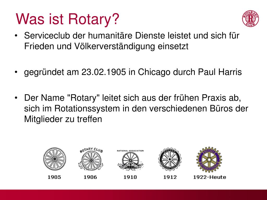 Was ist Rotary?