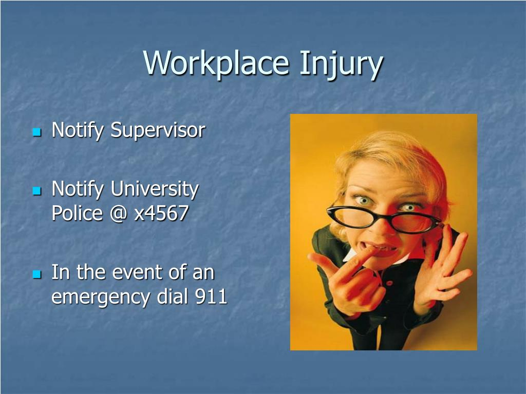 Workplace Injury
