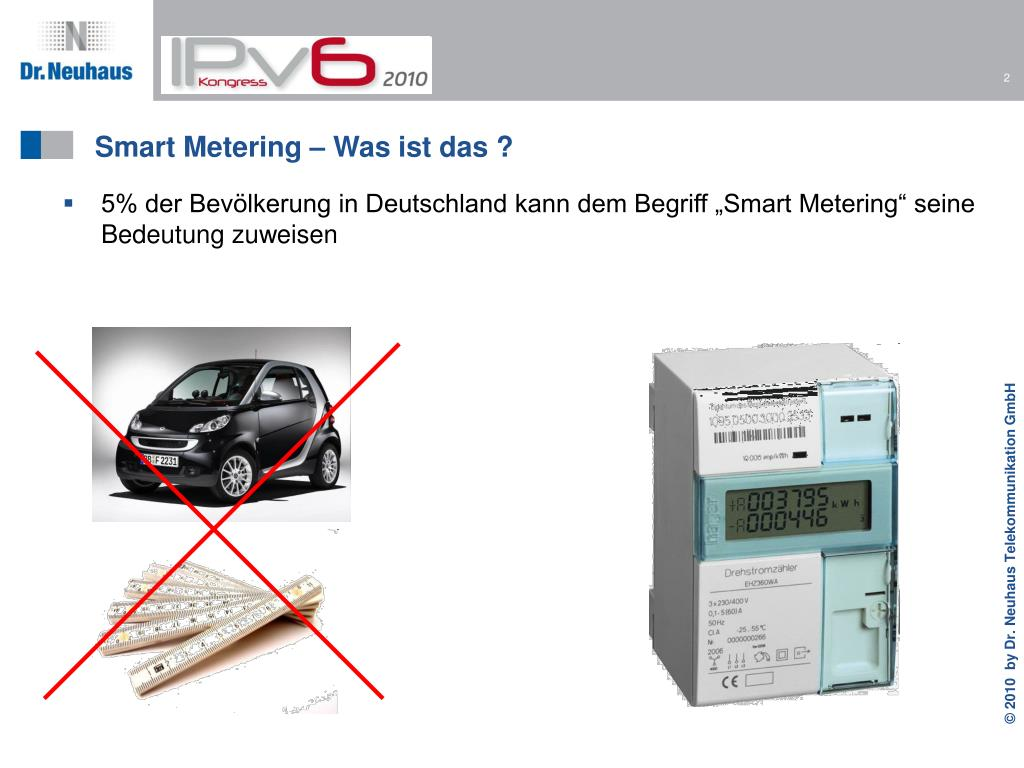 Smart Metering – Was ist das ?
