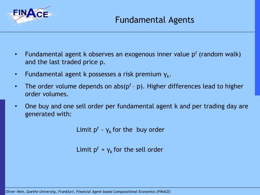 Fundamental Agents