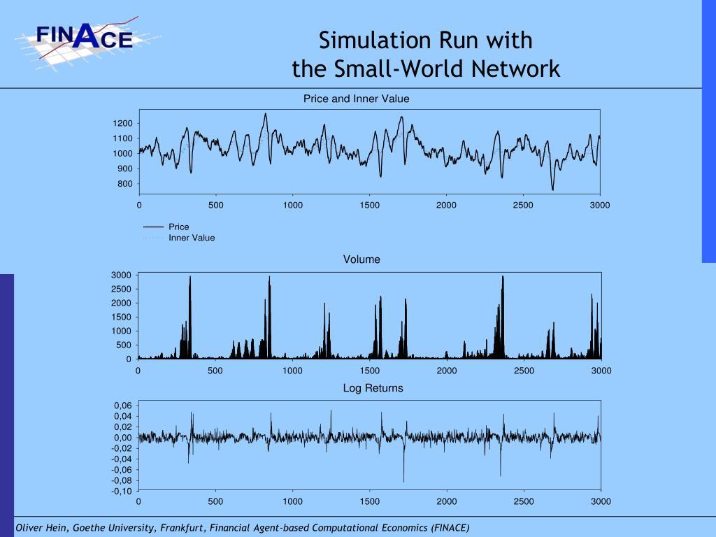 Simulation Run with