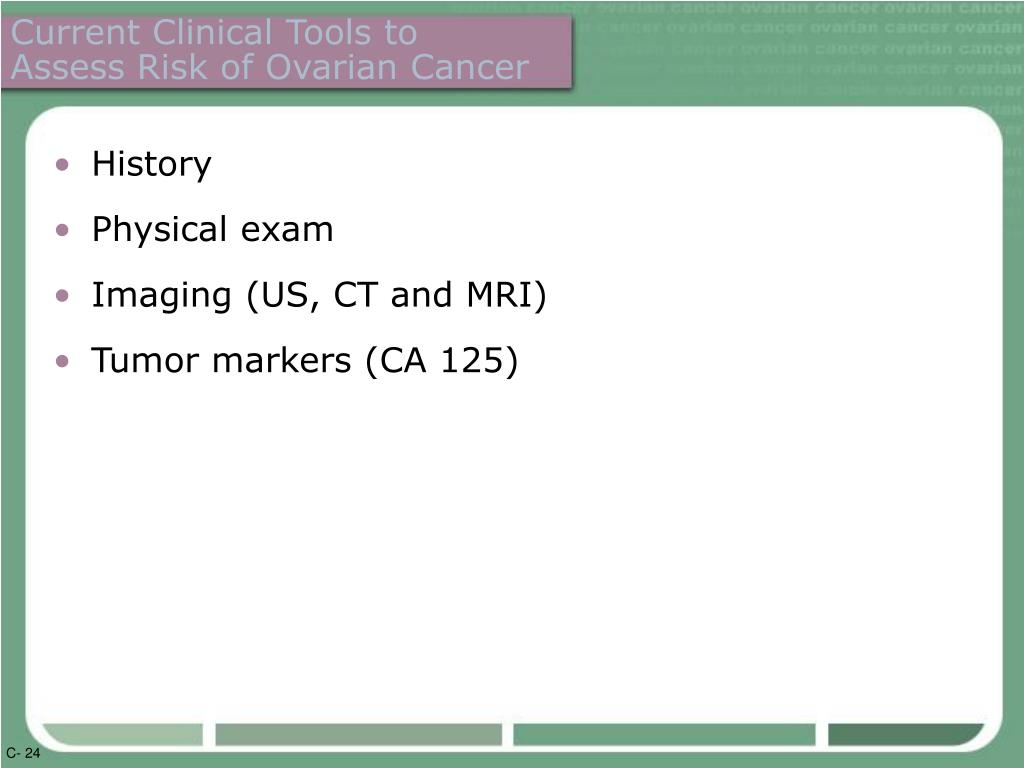 Current Clinical Tools to